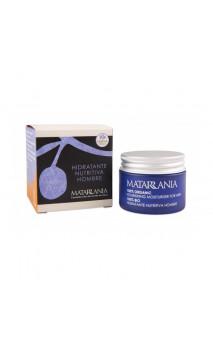 Crème visage bio hydratante Nourrissante Homme 100 bio - Matarrania - 30 ml.