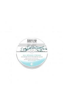 Mini Crème hydratante bio Visage & Corps Karité & Amande - Lavera - 25 ml.
