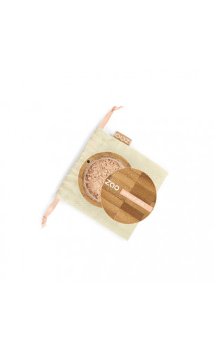 Poudre libre Minérale BIO Silk - ZAO - 501 Beige clair - 15 gr.