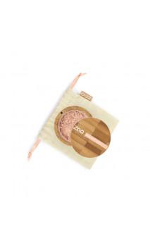 Poudre libre Minérale BIO - Mineral Silk - ZAO - 502 Beige rosé - Rechargeable - 15 gr.