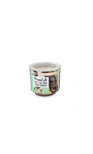 Poudre libre Minérale BIO - Mineral Silk - ZAO - 500  Transparent matifiant - 15 gr.