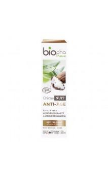 Crema de noche ecológica ANTIEDAD - Biopha Nature de 50 ml.