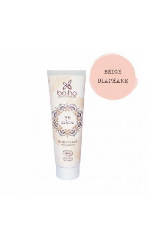 BB Cream bio Hydratante - Diaphane 01 - BoHo Green Cosmetics - 30 ml.
