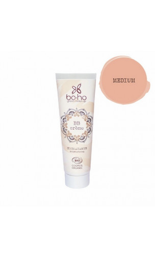 BB Cream ecológica Hidratante - Medium 04 - BoHo Green Cosmetics - 30 ml.
