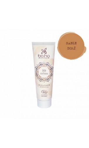 BB Cream bio Hydratante - Sable Doré 06 - BoHo Green Cosmetics - 30 ml.