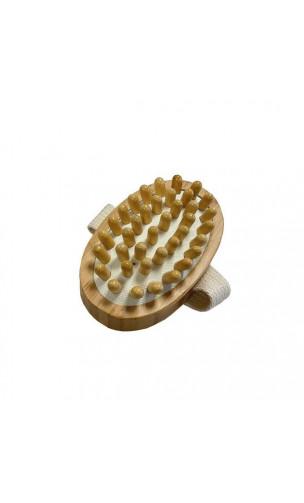Brosse de massage Anti-cellulite - Bambou - NaturaBIO Cosmetics