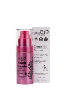 Crema facial ecológica Antiedad - Efecto lifting - PuroBIO - 30 ml.