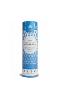 Déodorant naturel au bicarbonate - Pure - Ben & Anna - 60 g.