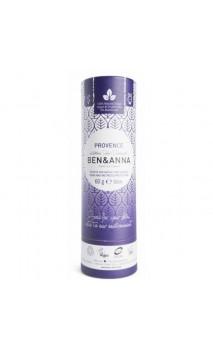 Déodorant naturel au bicarbonate - Provence - Ben & Anna - 60 g.