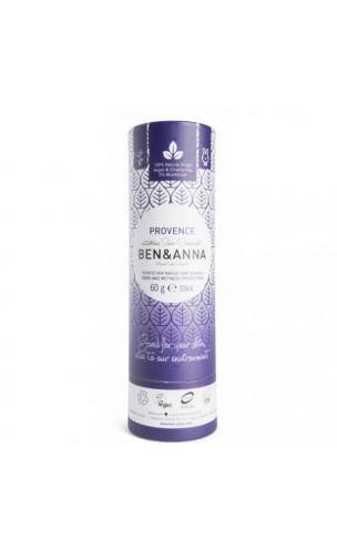Desodorante natural de bicarbonato - Provence - Ben & Anna - 60 g.