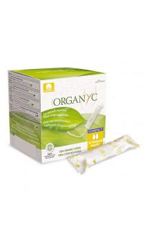 Tampón ecológico Normal - Algodón orgánico - Con aplicador origen vegetal -  Organyc - 16 U.