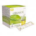 Tampon bio Régulier - Coton organique - Avec applicateur d'origine végétale -  Organyc - 16 U.
