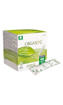 Tampón ecológico Super - Algodón orgánico - Con aplicador origen vegetal -  Organyc - 16 U.