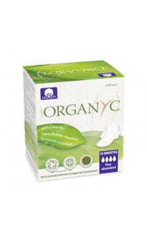 Compresa ecológica - Super con alas - Organyc - 10 U.