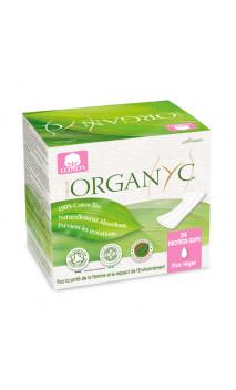 Salvaslip Ecológicos (Bolsa Ind) Algodón Orgánico - Organyc - 24 U.