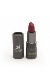 Rouge à lèvres bio mate Couvrant 103 Groseille - BoHo Green Cosmetics - 3,5 gr.