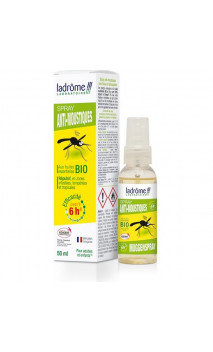 Spray antimosquitos ecológico - Especial zona tropical - Ladrôme - 50 ml.