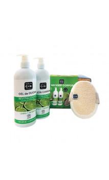 Set Trousse de toilette  revitalisant - Citron & Aloe bio - NaturaBIO Cosmetics