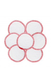 Discos faciales de algodón bio - Desmaquillantes & lavables - Fair Squared - 7 Ud.