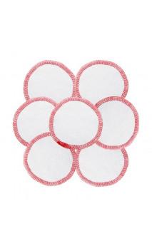 Disques visages en coton Bio - Démaquillants & lavables - Fair Squared - 7 Ud.