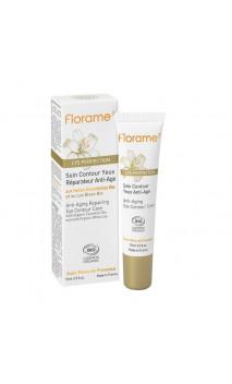 Soin contour des yeux bio Réparateur Anti-âge - Lys Perfection - Florame - 15 ml.