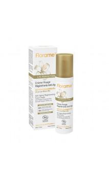 Crème visage bio Régénérante Anti-âge - Lys Perfection - Florame - 50 ml.