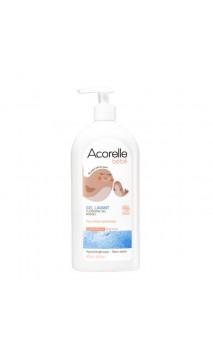 Shampooing & Gel de bain bio pour bébé - Eaux Thermales Calmantes - Sans savon - Acorelle - 500 ml.