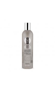 Shampooing bio pour cheveux abîmés - Energie et Brillance - Natura Siberica - 400 ml.