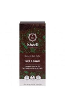 Tinte vegetal bio - castaño avellana - 100 vegetal - Khadi - 100 gr.