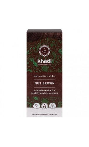 Coloration végétale bio - Châtain noisette - 100% végétal - Khadi - 100 gr.