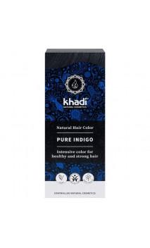 Indigo pur bio - 100 naturel - Khadi - 100 gr.