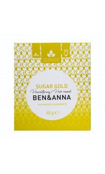 Cera depilatoria natural - Sugar gold - Ben & Anna - 60 g.