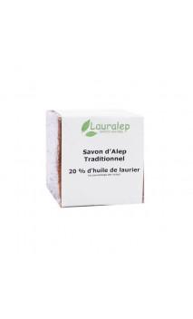 Jabón de Alepo tradicional Laurel al 20 - Lauralep - 200 g.