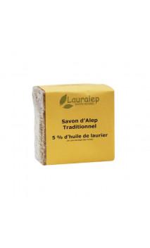 Jabón de Alepo tradicional Laurel al 5 Siria - Lauralep - 200 g.