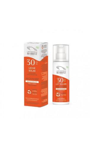 Leche solar natural SPF 30 Cara & Cuerpo - ALGA MARIS - 100 ml.
