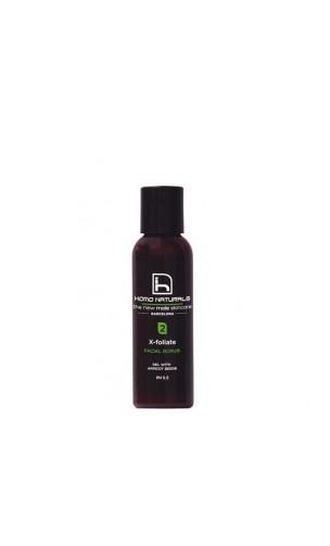 Exfoliante Ecológico X-Foliate - HOMO NATURALS - 70 ml.