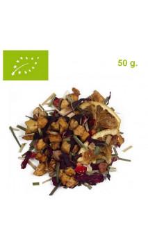 Infusión Frutas del Edén (Bienestar) - Infusión ecológica a granel - Aromas de té