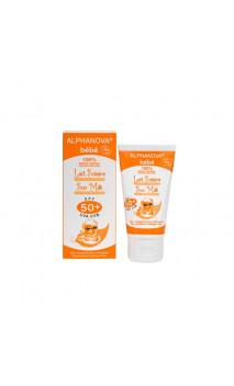 Protector solar natural para BEBÉ factor 50+ Sin perfume - Alphanova Sun bebé - 50 gr.