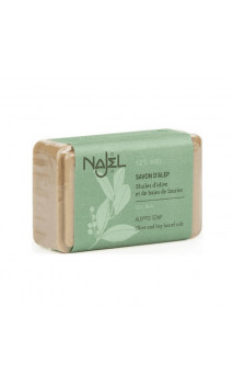 Jabón de Alepo natural Laurel al 12 (Piel normal a mixta) - Najel - 100 g.