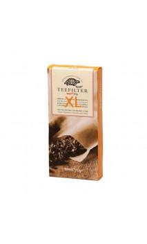 Filtre en papier pour thé bio en vrac - Non chloré - Taille XL - 60 unités -  Alveus
