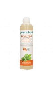 Detergente líquido ecológico para lavavajillas - Menta & Eucalipto - Greenatural - 500 ml.