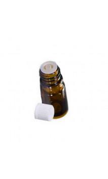 Frasco de goteo Ámbar (vacío) Aceites esenciales naturales - Pranarôm - 10 ml.