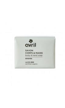 Jabón ecológico Almendras - Manos & Cuerpo - Avril - 100 g.