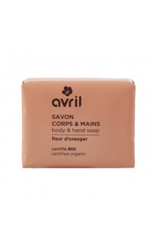 Jabón ecológico Flor de Azahar - Manos & Cuerpo - Avril - 100 g.