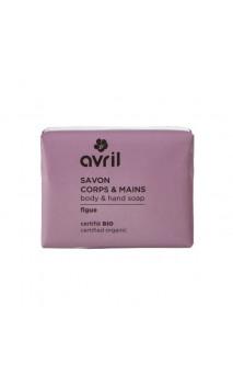 Jabón ecológico Higo - Manos & Cuerpo - Avril - 100 g.