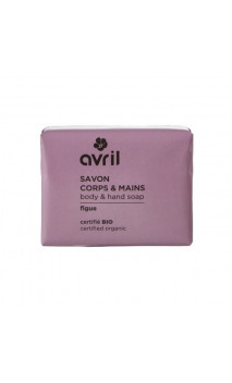 Savon bio Figue - Mains & Corps - Avril - 100 g.