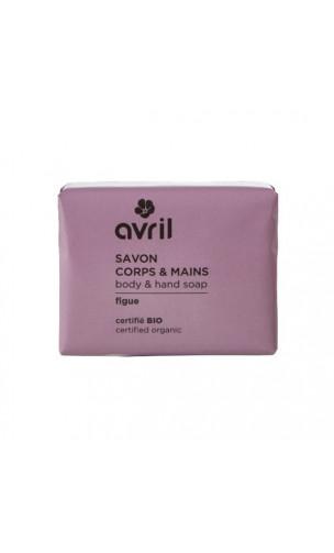 Savon bio Figue - Mains & Corps - Avril - 100 g.