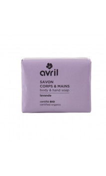 Savon bio Lavande - Mains & Corps - Avril - 100 g.