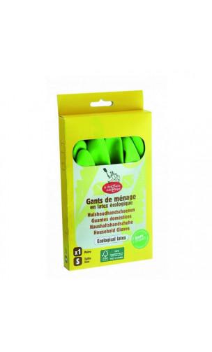 Gants d'entretien Latex écologique - La droguerie écologique - Taille S