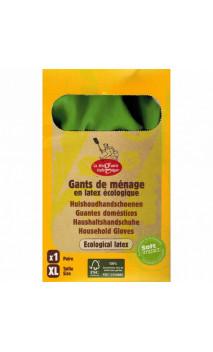Gants d'entretien Latex écologique - La droguerie écologique - Taille XL